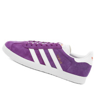 ADIDAS WOMENS Shoes Gazelle - Glory Purple, White & Amber - EF6512