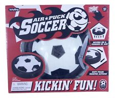 Schylling Air Puck Soccer Hover Ball with Soft Bumpers Indoor Game NIB