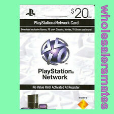 Playstation 3 PSN Network Card $20 US Store 20 USD für PS3 PS4 PSP Per Email