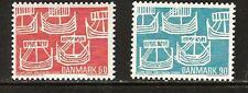 DENMARK # 454-455 MNH Ancient Ships