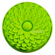 "8.7"" Sunflower Flan Silicone Mold FOR Birthday Party Cake Bread Pie Pan Bakeware"
