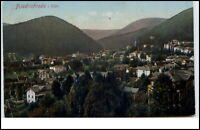 Friedrichroda Thüringen Postkarte 1925 gelaufen Gesamtansicht Panorama