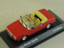 MINICHAMPS 400123530 - Maserati Biturbo 1982 cabriolet rouge - 1/43