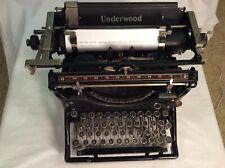 Vintage 1930 Underwood Std. No. 11 Typewriter In Excellent Clean Wrkg.Condition