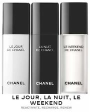 Chanel Reactivate, Recharge, Renew 3 x 0.5 oz Bottles For Day, Night & Weekend