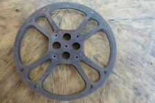 """16 MM 13 3/4"""" 13.75"""" Metal Motion Picture Film Take Up Reel Expedited Shipping"""