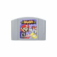 For Nintendo N64 Video Game Cartridge Console Card Super Smash Bros US Version