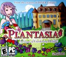 PLANTASIA  NO GREEN THUMB NEEDED! 50 PLAYING LEVELS. FAST FREE SHIPPING