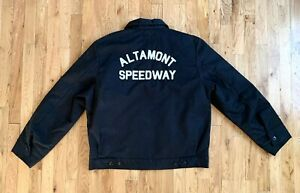ALTAMONT x EBBETS FIELD Speedway Jacket VERY RARE Only 75 MADE Grounds Crew