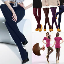 Femme Opaques Epais Pleine Longueur Collants Leggings Tights 120D Multicolores