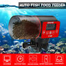 Automatic Auto Digital LCD Fish Food Feeder Timer For Aquarium Tank Pond