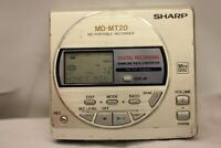 SHARP  MD-MT20 MINIDISC MD PORTABLE RECORDER PLAYER SAMPLING 24 BIT ATRAC