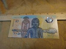 1988 Australia Ab11 Fraser Johnston $10 Bank Note