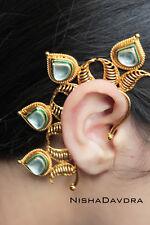Pair Traditional Indian Bollywood Ear Cuff Ethnic Fashion Jewelry