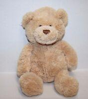 "GUND TEDDY BEAR HUGS 12"" HAPPY BIRTHDAY Tan Plush Soft Toy Stuffed Animal 15412"