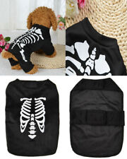 Christmas Halloween Skull Dog Clothes Pets Cat Coat Costume Outfit Fancy Apparel