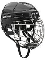 New Bauer IMS 5.0 Combo Ice Hockey Senior Helmet with Cage rrp £90