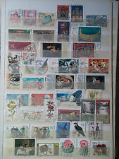 P672.  ALLEMAGNE. 3 PAGES TIMBRES OBLITERES