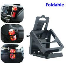 Multifunction Phone Rack for Car Air Outlet Beverage Bracket Foldable Cup Holder