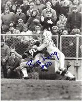 PACKERS Bob Long signed 8x10 photo w/ #80 AUTO Autographed GREEN BAY SB I & II
