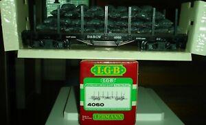 LGB 4060 Black Denver & Rio Grande Western 4-Axle Flat Car w/Sack Load