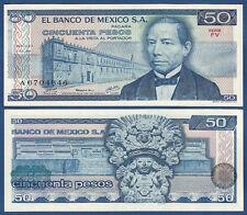 México/México 50 pesos 1978 UNC p.65 C