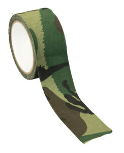 """Cloth Tape Jungle Camouflage 2"""" x 33' Wrap Gear Guns Hunting Equipment Blinds"""