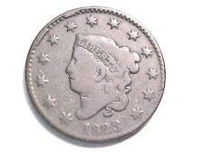1823 Coronet Head Large Cent..Normal Date..N2..Fine Grade-Make an offer