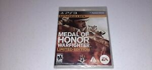 Medal of Honor Warfighter Limited Edition (Sony PlayStation 3, 2012) PS3 Game