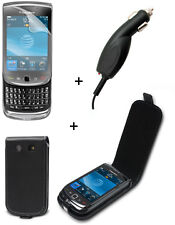 Pack Premium Plus Blackberry 9800 Torch Etui Support voiture Chargeur voitur