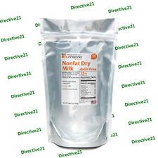 NuManna Hormone-Free Nonfat Organic Milk Powder 40-serving Re-Sealable Pouch
