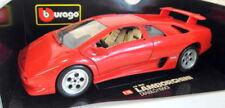 Véhicules miniatures jaune Burago pour Lamborghini