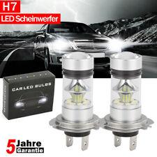 Paar H7 120W 24000LM Auto LED Scheinwerferlampen COB Kit 6000K Weiß Canbus