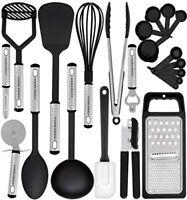 Set Completo De Utensilios De Cocina Profesional Accesorios Hechos De Nylon NEW