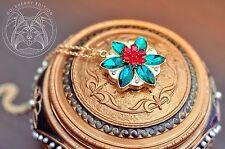 "Anastasia ""Together in Paris"" necklace."