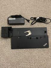 New listing Lenovo ThinkPad Ultra Dock 90W Usb 3.0 Docking Station