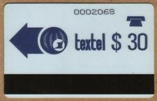 $30,$50. Rare Textel Autelca (First Issues) Set of 2. Nice USED Phone Card
