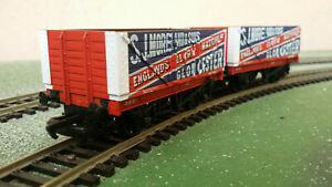 2x Mainline 37-167 7-plank Wagons - England's Glory Matches, Gloucester, boxed