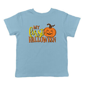 Ghost Face Spooky Halloween October Autumn Holiday Infant T-Shirt