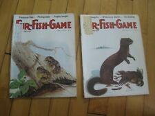 """2 Vintage """" FUR-FISH-GAME"""" Magazines,  MARCH 1978, AND MAY 1978"""