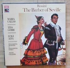 B688 Hmv Sls 853 Rossini The Barber Of Seville Callas Gobbi Galliera 3 Lp Stereo