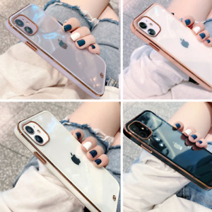 Shockproof Clear Back Phone Case Cover For iPhone 12 Pro Max Mini 11 XR XS X