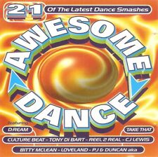 Various - Awesome Dance (CD 1994) Rozalla; 2Unlimited; M-People; Loveland