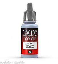 Vallejo Game Color 72.047 LUPO GRIGIO, 17ml acrilico vernice fantasia/gioco di guerra