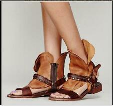 New ladies Summer Boot Womens Shoes Roman Gladiator sexy Sandal leather sandals