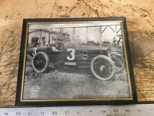 Vintage 1915 Auto Racing Picture Official Speedway Photo Caburn