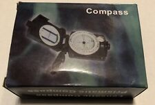 SE CC4580 Military Lensatic and Prismatic Sighting Survival Emergency Compass...