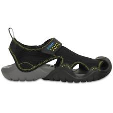 1b4cf087b133 Crocs Mens Swiftwater Sandal Black charcoal 11 M US