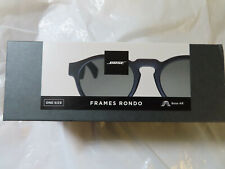 BOSE FRAMES RONDO STYLE BOSE AR  BLACK AUDIO SUNGLASSES BRAND NEW, SEALED