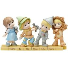 Precious Moments WIZARD OF OZ There Is No Place Like Home Complete set 4 NEW